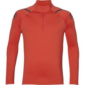 asics Icon - Camiseta manga larga running Hombre - rojo